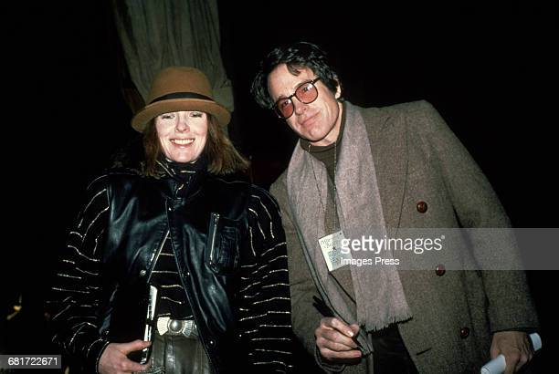 Diane Keaton and Warren Beatty circa 1982 in New York City