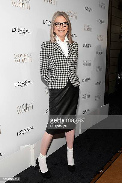 Diane Keaton attends L'Oreal Paris' Ninth Annual Women of Worth Awards at The Pierre Hotel on December 2 2014 in New York City