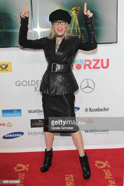 Diane Keaton attends the Goldene Kamera 2014 at Tempelhof Airport Hangar 7 on February 1 2014 in Berlin Germany