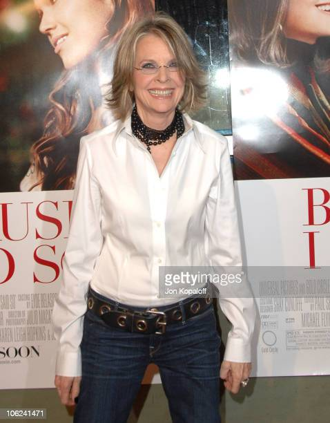 Diane Keaton during 'Because I Said So' Los Angeles Premiere Arrivals at The Arclight in Hollywood California United States