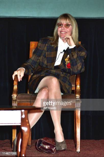 Diane Keaton during HBO's TCA 1992 at RItzCarlton in Pasadena CA United States