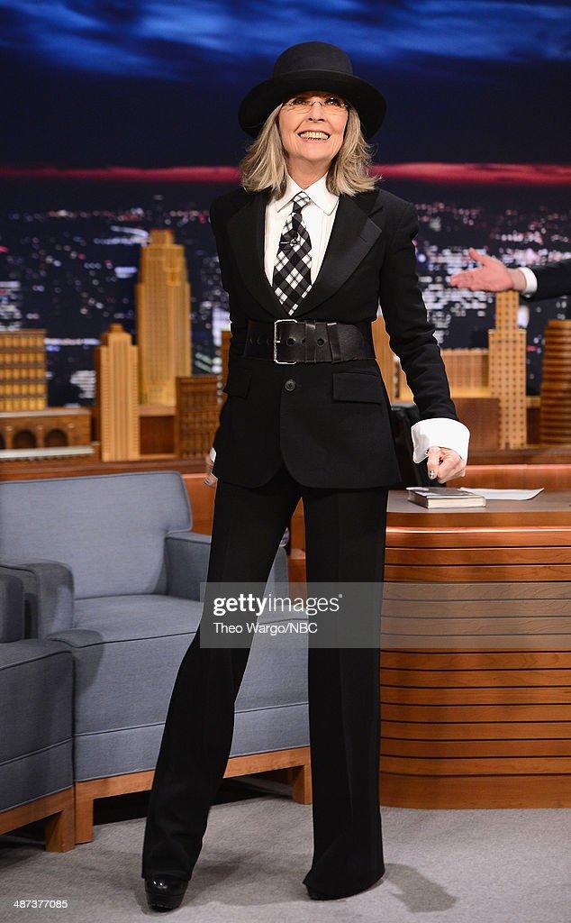 "Diane Keaton Visits ""The Tonight Show Starring Jimmy Fallon"""