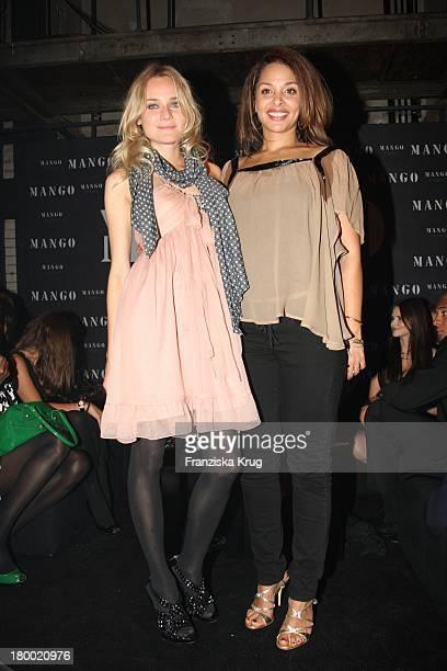 Diane Krüger Und Joy Denalane Bei Der Fashionparty '10 Jahre Mango In Deutschland' Im Ewerk In Berlin