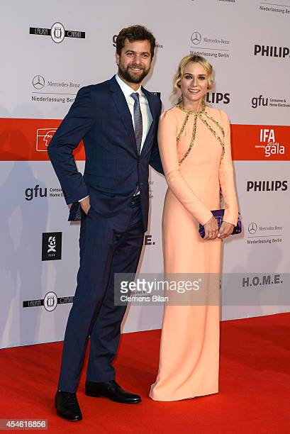 Diane Kruger and Joshua Jackson attend the IFA 2014 Consumer Technology Trade Fair Opening Gala at Messe Berlin on September 4 2014 in Berlin Germany