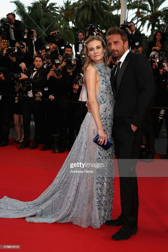 <a gi-track='captionPersonalityLinkClicked' href=/galleries/search?phrase=Diane+Kruger&family=editorial&specificpeople=202640 ng-click='$event.stopPropagation()'>Diane Kruger</a> and <a gi-track='captionPersonalityLinkClicked' href=/galleries/search?phrase=Matthias+Schoenaerts&family=editorial&specificpeople=6259320 ng-click='$event.stopPropagation()'>Matthias Schoenaerts</a> attend the Premiere of 'The Sea Of Trees' during the 68th annual Cannes Film Festival on May 16, 2015 in Cannes, France.