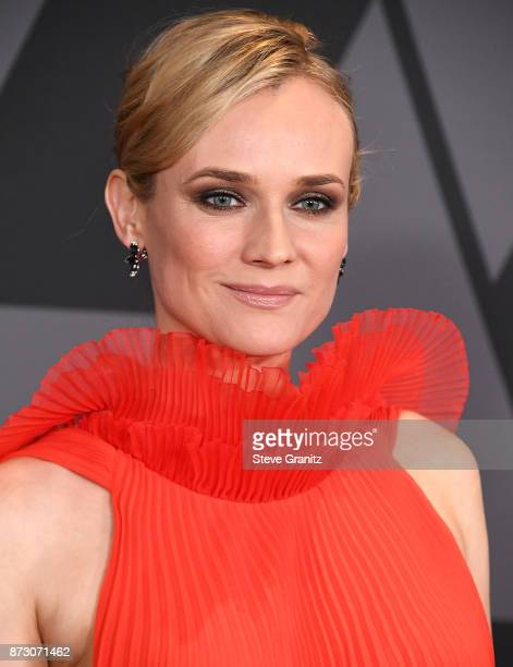 Diane Kruger arrives at the Academy Of Motion Picture Arts And Sciences' 9th Annual Governors Awards at The Ray Dolby Ballroom at Hollywood Highland...