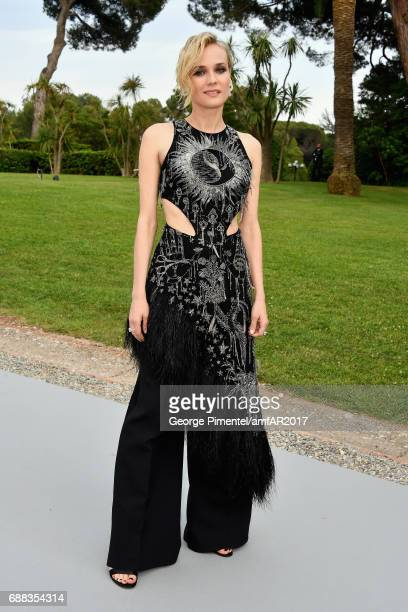 Diane Kruger arrives at the amfAR Gala Cannes 2017 at Hotel du CapEdenRoc on May 25 2017 in Cap d'Antibes France