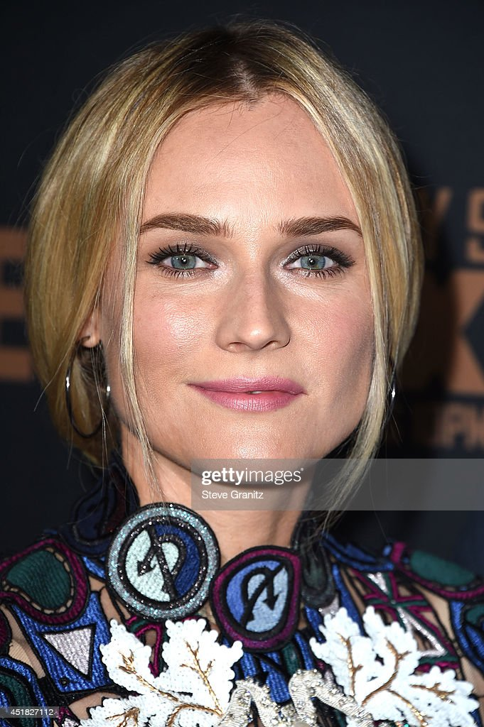 Diane Kruger arrives at the FX's 'The Bridge' Season 2 Premiere at Pacific Design Center on July 7, 2014 in West Hollywood, California.