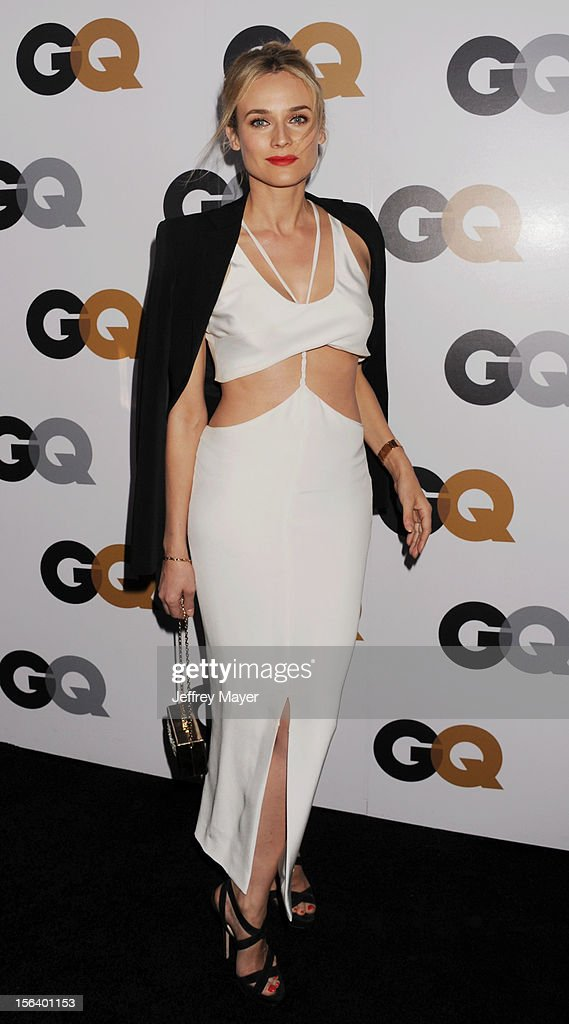 Diane Kruger arrives at the GQ Men Of The Year Party at Chateau Marmont Hotel on November 13, 2012 in Los Angeles, California.