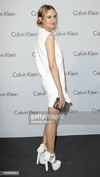 Diane Kruger arrives at the World of Calvin Klein event during the Mercedes Benz Fashion Week Spring/Summer 2011 on July 7 2010 in Berlin Germany