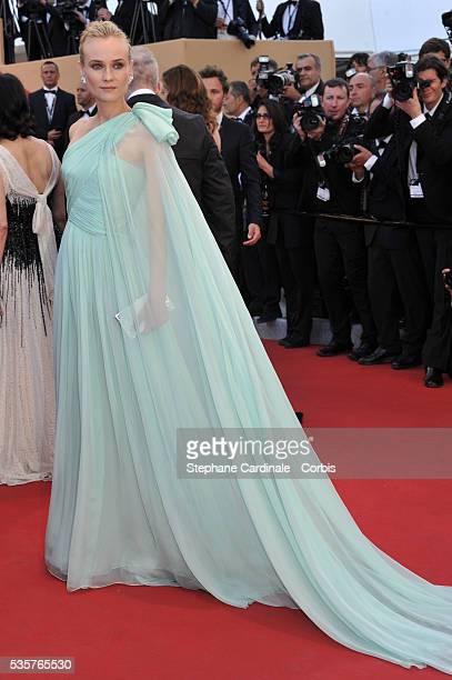 Diane Kruger at the premiere for 'Moonrise Kingdom' during the 65th Cannes International Film Festival