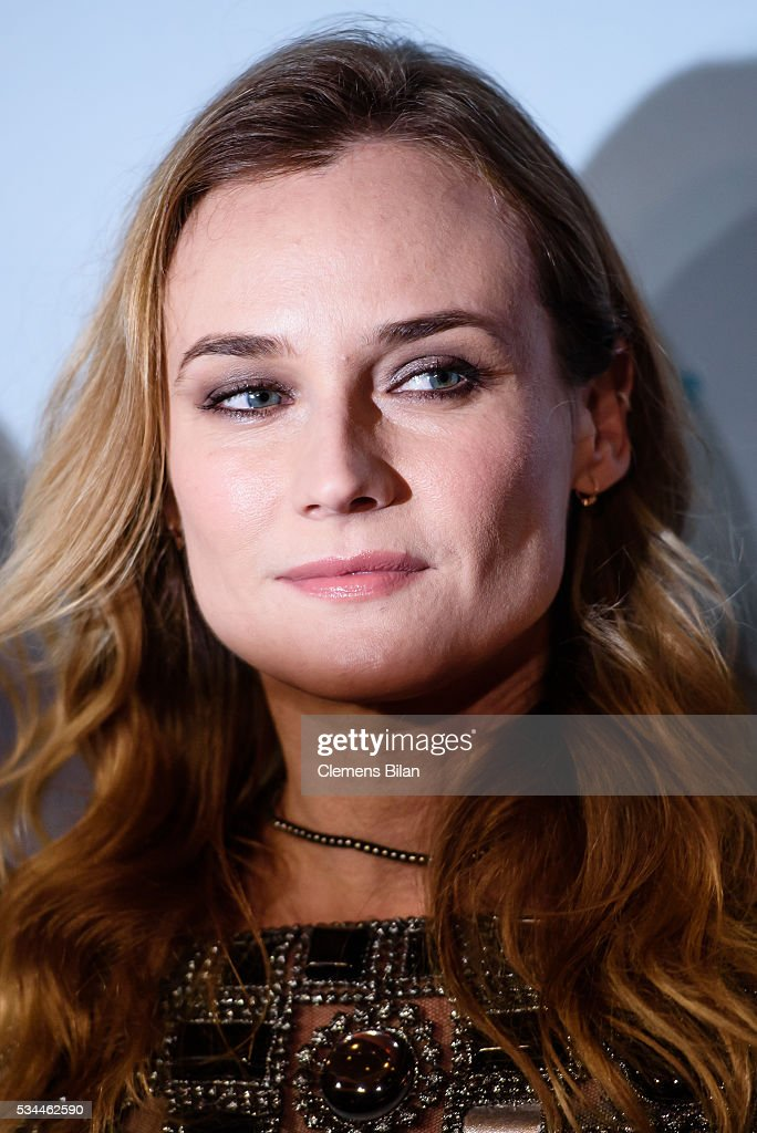 Diane Kruger attend the German premiere of the film 'Sky - Der Himmel in mir' at Zoo Palast on May 26, 2016 in Berlin, Germany.