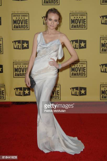 Diane Kruger attends 2010 Critics Choice Awards at The Palladium on January 15 2010 in Hollywood California