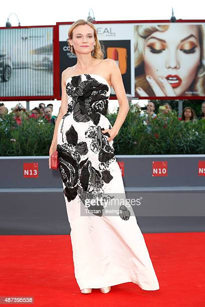 Diane Kruger attends a premiere for '11 Minutes' during the 72nd Venice Film Festival at Sala Grande on September 9 2015 in Venice Italy