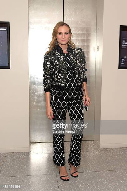 Diane Kruger attends an intimate cocktail benefitting Women In Film hosted by Barneys New York and United Talent Agency at Fred's at Barneys on July...