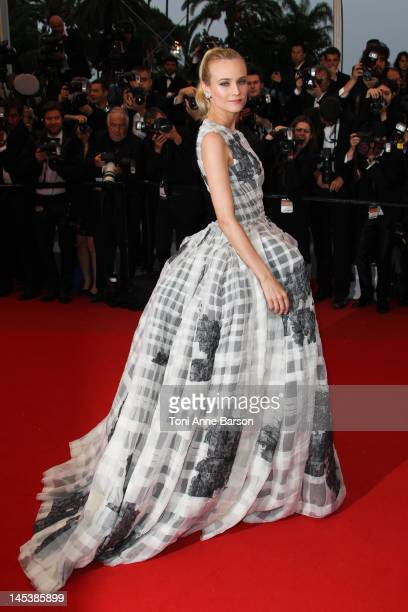 Diane Kruger attends Closing Ceremony Therese Desqueyroux Premiere at Palais des Festivals on May 27 2012 in Cannes France