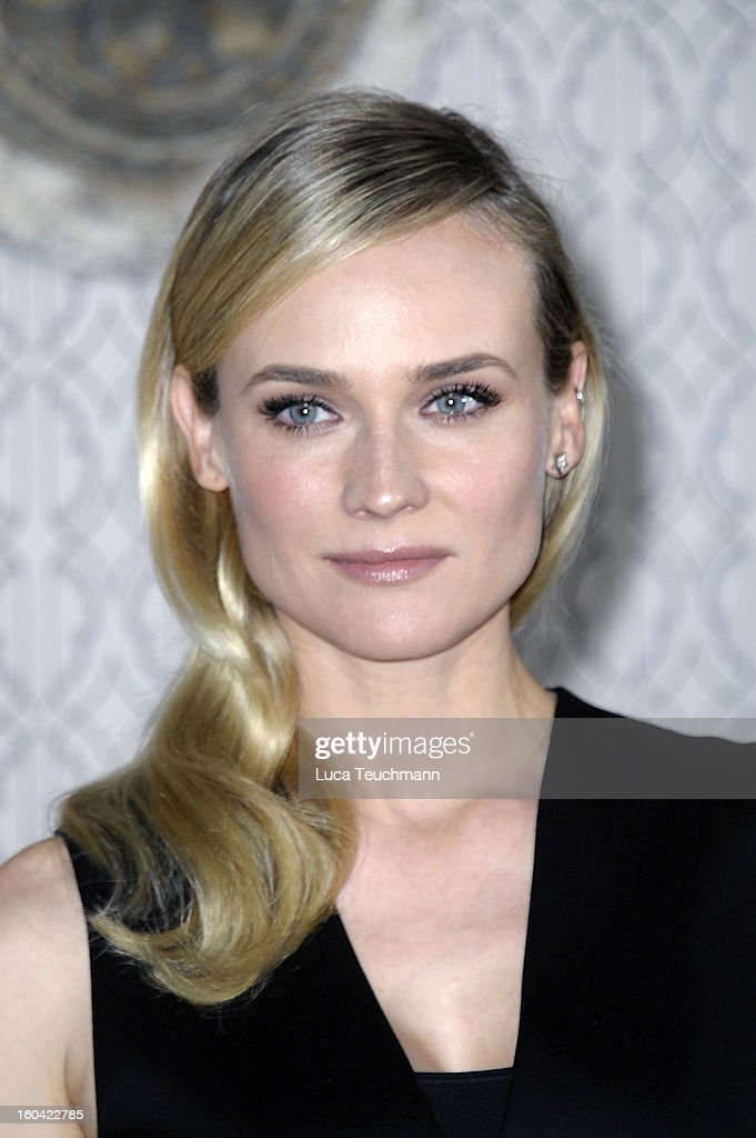 <a gi-track='captionPersonalityLinkClicked' href=/galleries/search?phrase=Diane+Kruger&family=editorial&specificpeople=202640 ng-click='$event.stopPropagation()'>Diane Kruger</a> attends 'Der Naechste, Bitte!' Germany photocall at the Hotel de Rome on January 31, 2013 in Berlin, Germany.