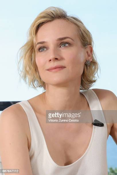 Diane Kruger attends Kering Talks Women In Motion At The 70th Cannes Film Festival at Hotel Majestic on May 24 2017 in Cannes France