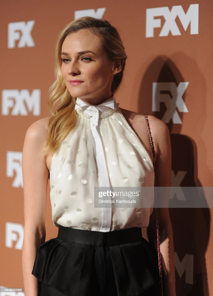 <a gi-track='captionPersonalityLinkClicked' href=/galleries/search?phrase=Diane+Kruger&family=editorial&specificpeople=202640 ng-click='$event.stopPropagation()'>Diane Kruger</a> attends the 2013 FX Upfront Bowling Event at Luxe at Lucky Strike Lanes on March 28, 2013 in New York City.