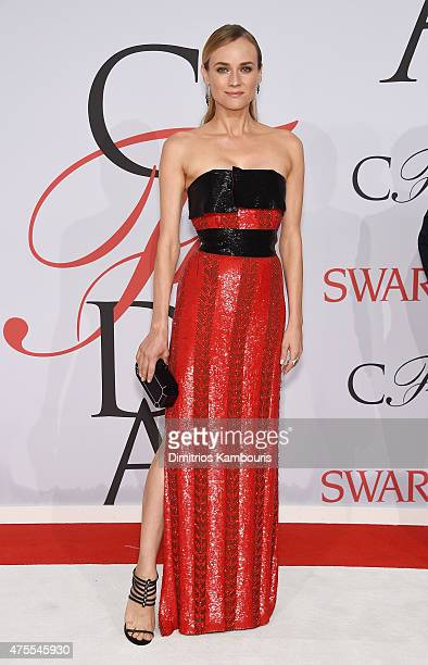 Diane Kruger attends the 2015 CFDA Fashion Awards at Alice Tully Hall at Lincoln Center on June 1 2015 in New York City