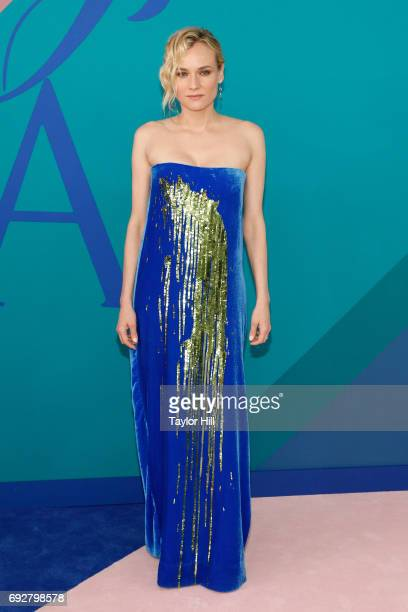 Diane Kruger attends the 2017 CFDA Fashion Awards at Hammerstein Ballroom on June 5 2017 in New York City