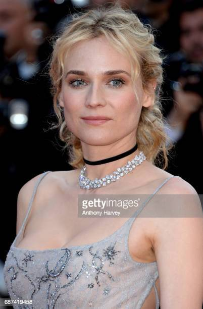 Diane Kruger attends the 70th anniversary event during the 70th annual Cannes Film Festival at Palais des Festivals on May 23 2017 in Cannes France
