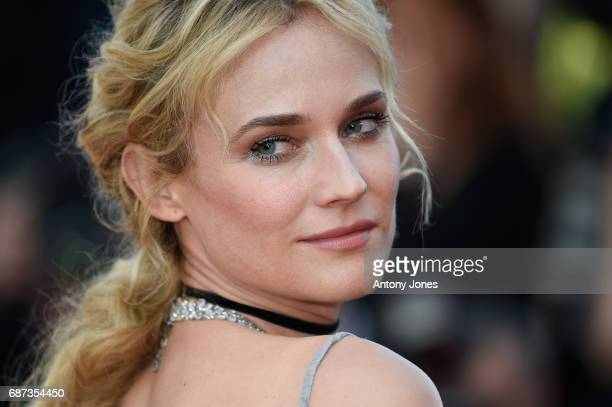 Diane Kruger attends the 70th Anniversary of the 70th annual Cannes Film Festival at Palais des Festivals on May 23 2017 in Cannes France