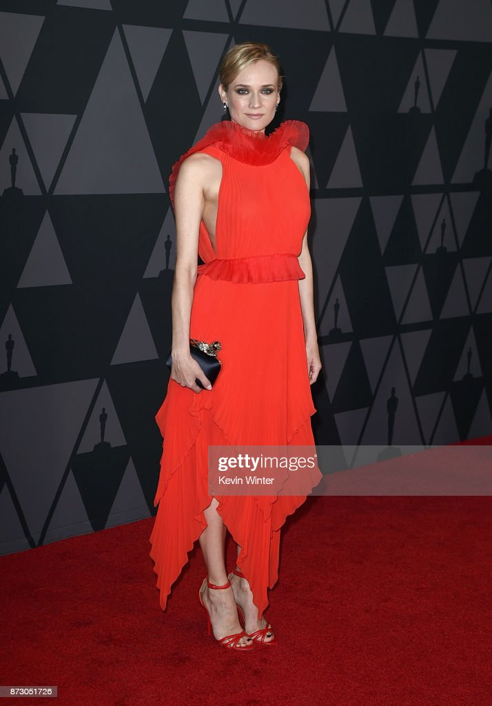 Diane Kruger attends the Academy of Motion Picture Arts and Sciences' 9th Annual Governors Awards at The Ray Dolby Ballroom at Hollywood & Highland Center on November 11, 2017 in Hollywood, California.