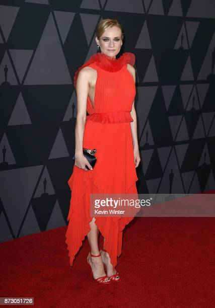 Diane Kruger attends the Academy of Motion Picture Arts and Sciences' 9th Annual Governors Awards at The Ray Dolby Ballroom at Hollywood Highland...
