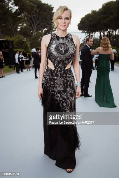 Diane Kruger attends the amfAR Gala Cannes 2017 at Hotel du CapEdenRoc on May 25 2017 in Cap d'Antibes France