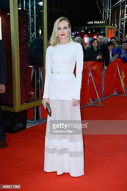 Diane Kruger attends 'The Better Angels' premiere during 64th Berlinale International Film Festival at Haus der Berliner Festspiele on February 10...