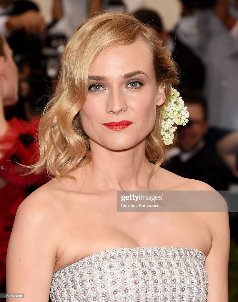 Diane Kruger attends the 'China: Through The Looking Glass' Costume Institute Benefit Gala at the Metropolitan Museum of Art on May 4, 2015 in New York City.