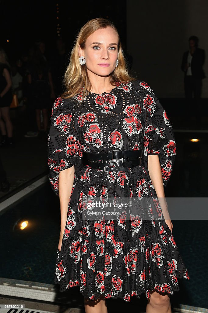 Diane Kruger attends The Cinema Society Chopard with Line 39 and Qui Host the After Party for IFC Films' 'Disorder' at The Jimmy at the James Hotel...