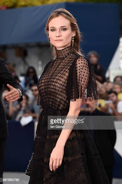 Diane Kruger attends the closing ceremony and premiere of 'Lao Pao Er' during the 72nd Venice Film Festival on September 12 2015 in Venice Italy