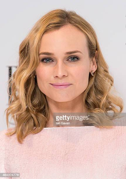 Diane Kruger attends the Elle Style Awards 2015 at Sky Garden @ The Walkie Talkie Tower on February 24 2015 in London England