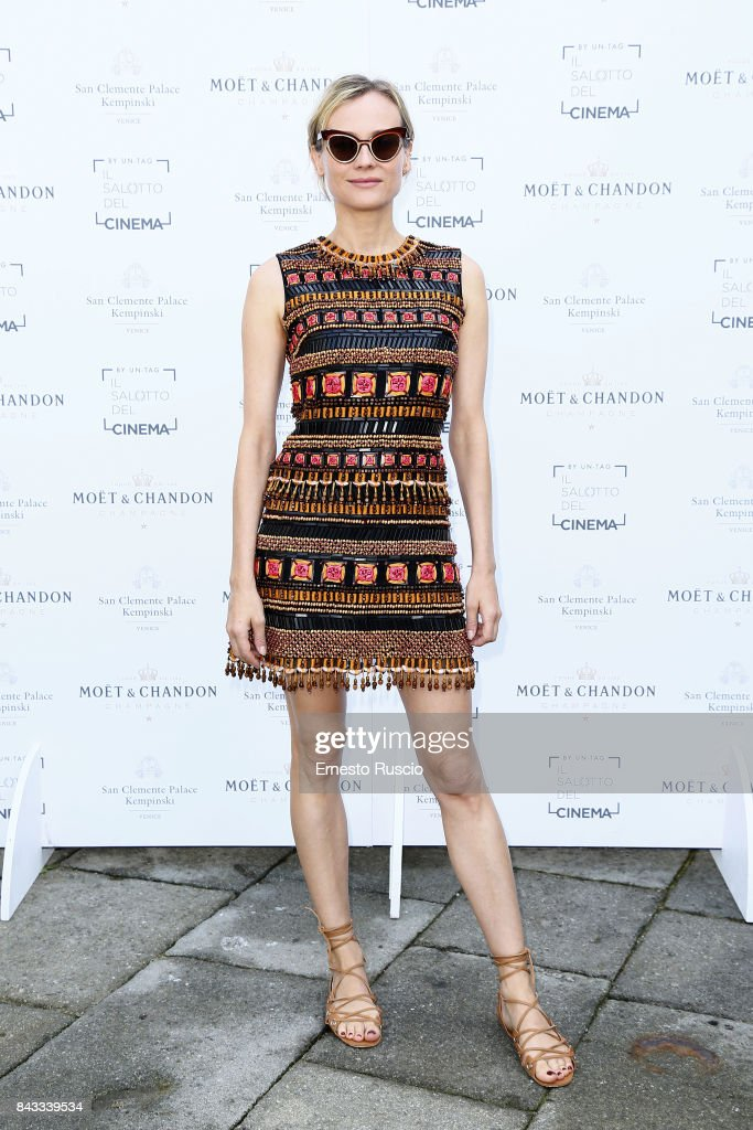 Diane Kruger attends the European Filmmakers Lunch during the 74th Venice Film Festival at San Clemente Palace Hotel on September 6, 2017 in Venice, Italy.