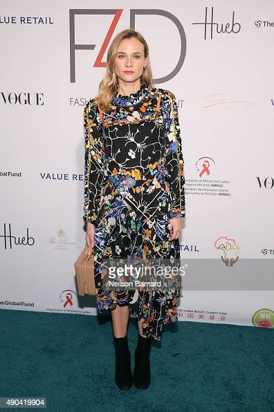 Diane Kruger attends the Fashion 4 Development's 5th annual Official First Ladies luncheon at The Pierre Hotel on September 28 2015 in New York City