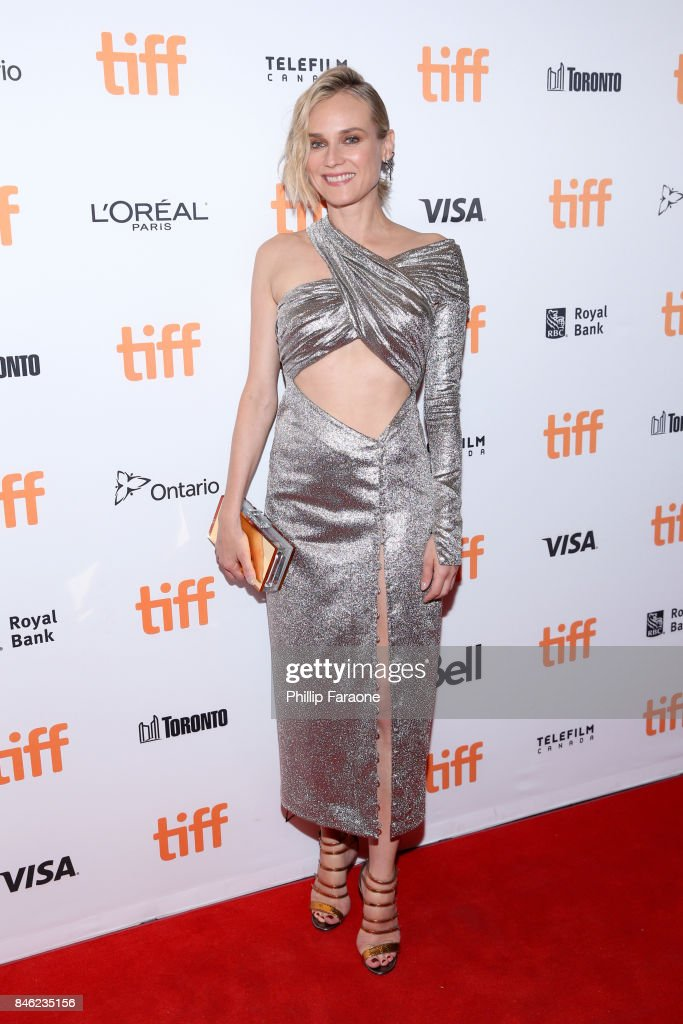 Diane Kruger attends the 'In the Fade' premiere during the 2017 Toronto International Film Festival at The Elgin on September 12, 2017 in Toronto, Canada.