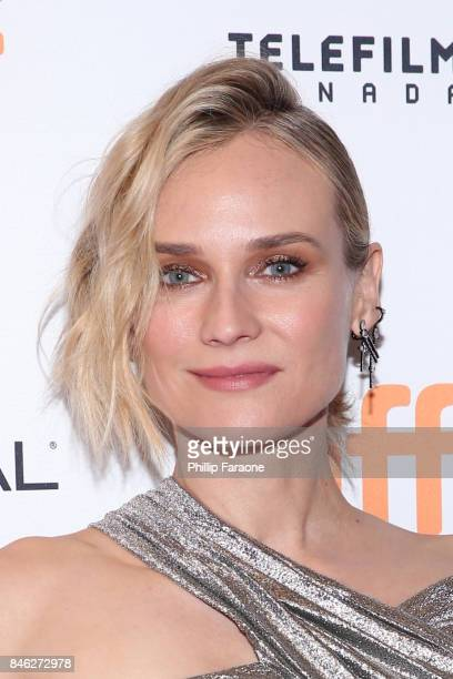 Diane Kruger attends the 'In the Fade' premiere during the 2017 Toronto International Film Festival at The Elgin on September 12 2017 in Toronto...