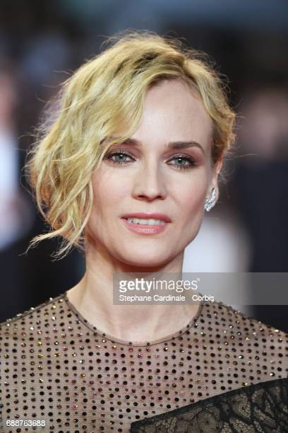 Diane Kruger attends the 'In The Fade ' premiere during the 70th annual Cannes Film Festival at Palais des Festivals on May 26 2017 in Cannes France