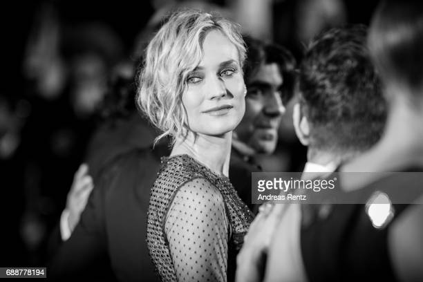 Diane Kruger attends the 'In The Fade ' screening during the 70th annual Cannes Film Festival at on May 26 2017 in Cannes France
