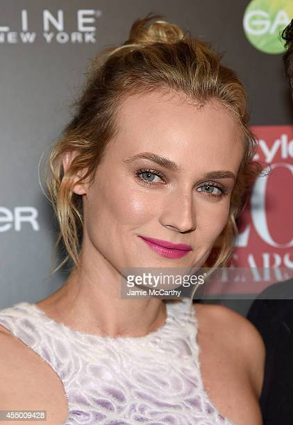 Diane Kruger attends the Instyle 20th Anniversary Party at Diamond Horseshoe at the Paramount Hotel on September 8 2014 in New York City