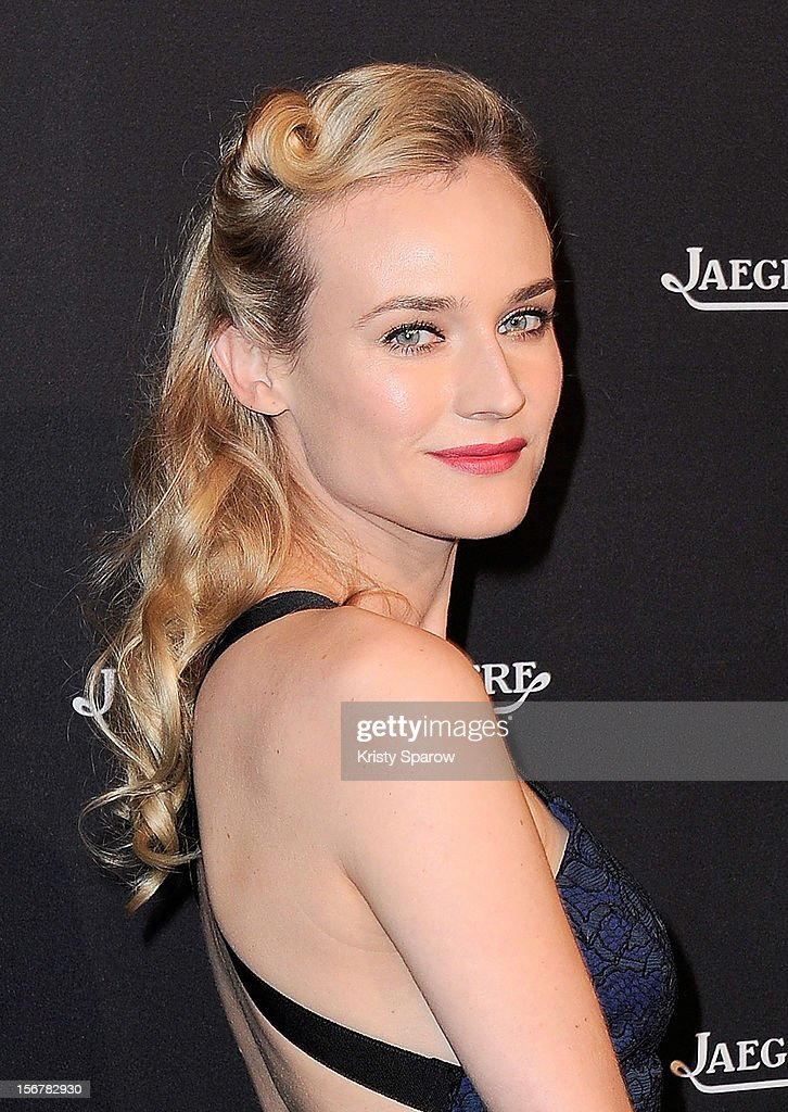 Diane Kruger attends the Jaeger-LeCoultre Place Vendome Boutique Opening at Jaeger-LeCoultre Boutique on November 20, 2012 in Paris.