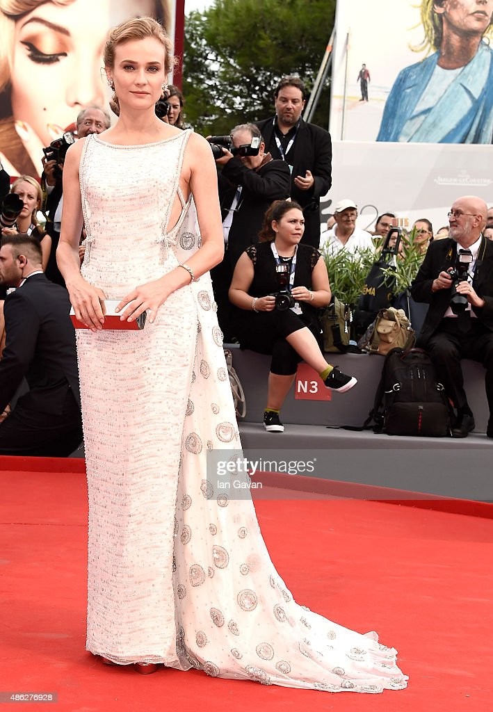 <a gi-track='captionPersonalityLinkClicked' href=/galleries/search?phrase=Diane+Kruger&family=editorial&specificpeople=202640 ng-click='$event.stopPropagation()'>Diane Kruger</a> attends the opening ceremony and premiere of 'Everest' during the 72nd Venice Film Festival on September 2, 2015 in Venice, Italy.