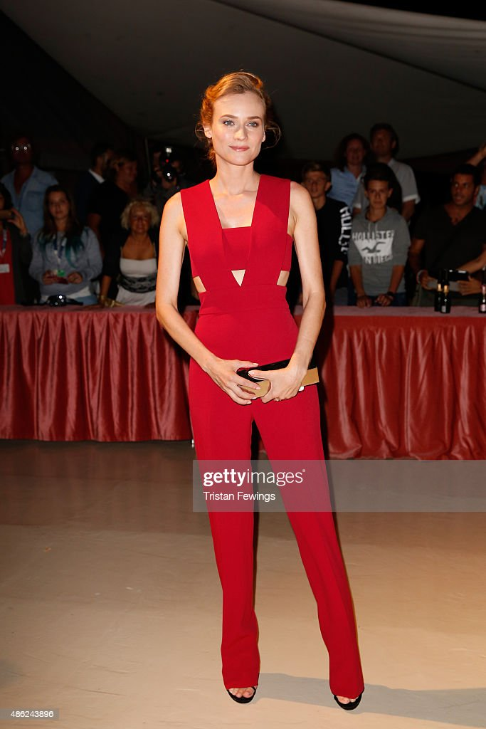 <a gi-track='captionPersonalityLinkClicked' href=/galleries/search?phrase=Diane+Kruger&family=editorial&specificpeople=202640 ng-click='$event.stopPropagation()'>Diane Kruger</a> attends the opening dinner during the 72nd Venice Film Festival on September 2, 2015 in Venice, Italy.