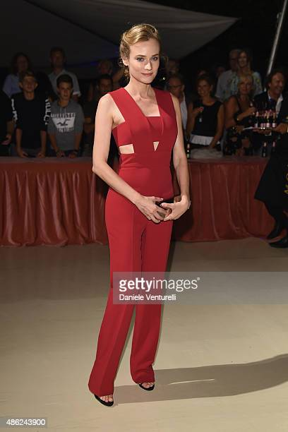 Diane Kruger attends the opening dinner during the 72nd Venice Film Festival on September 2 2015 in Venice Italy
