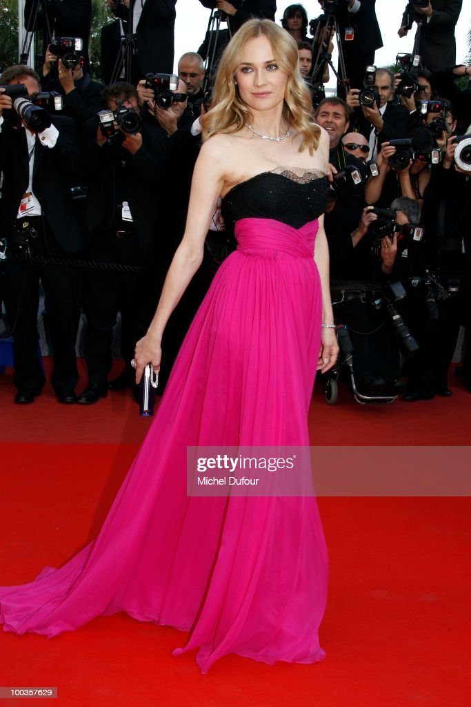 Diane Kruger attends the Palme d'Or Award Closing Ceremony held at the Palais des Festivals during the 63rd Annual Cannes Film Festival on May 23, 2010 in Cannes, France.