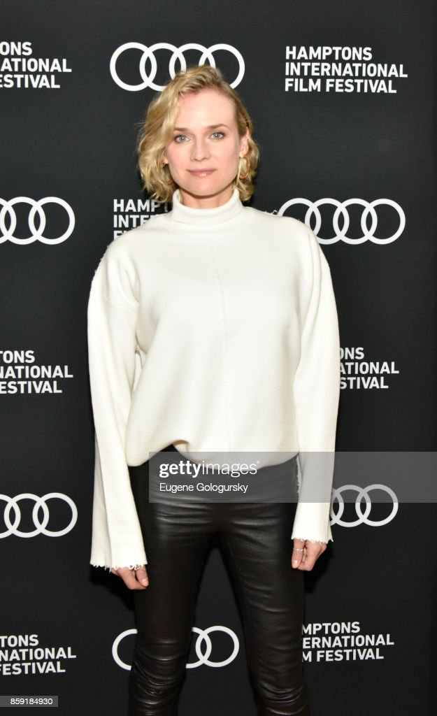 Diane Kruger attends the red carpet for 'In the Fade' during Hamptons International Film Festival 2017 - Day Four on October 8, 2017 in East Hampton, New York.