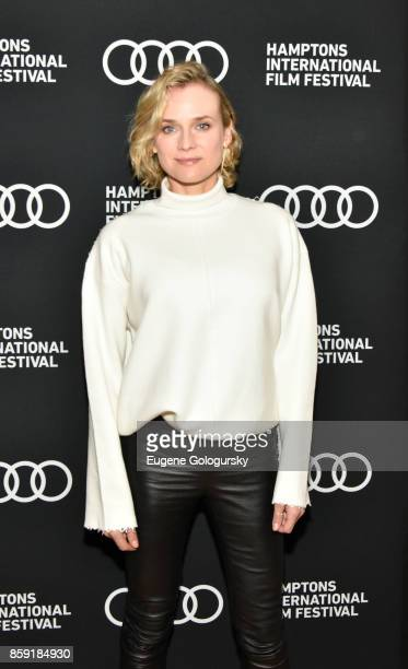 Diane Kruger attends the red carpet for 'In the Fade' during Hamptons International Film Festival 2017 Day Four on October 8 2017 in East Hampton New...
