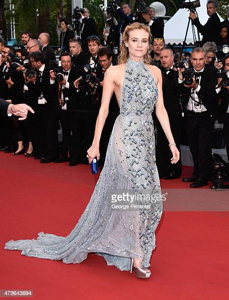 Diane Kruger attends 'The Sea Of Trees' Premiere during the 68th annual Cannes Film Festival on May 16 2015 in Cannes France